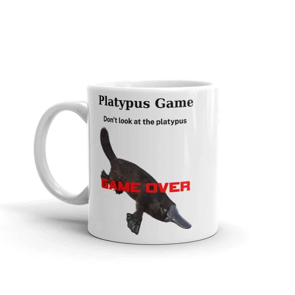 Platypus Game Mug