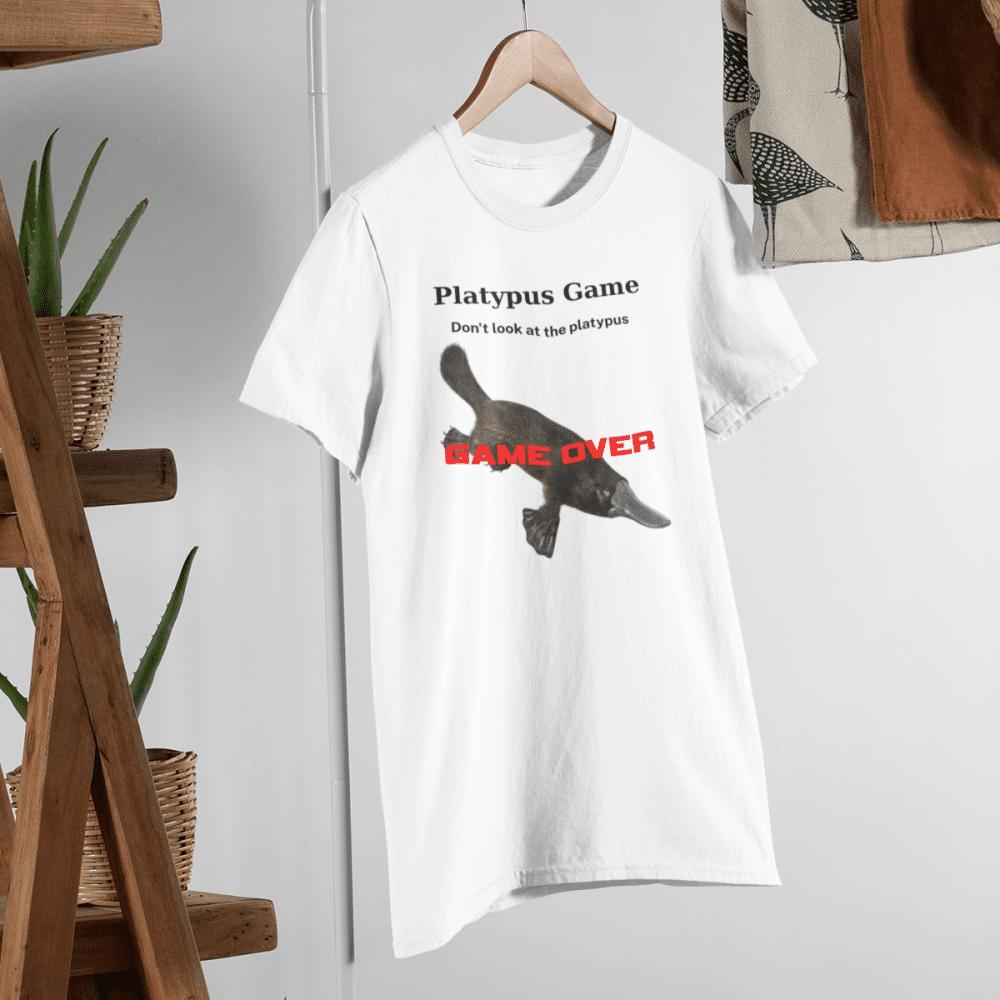 Platypus Game T-Shirt