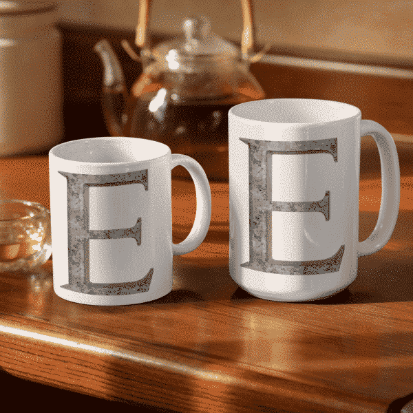 Iron E (Irony) Mug