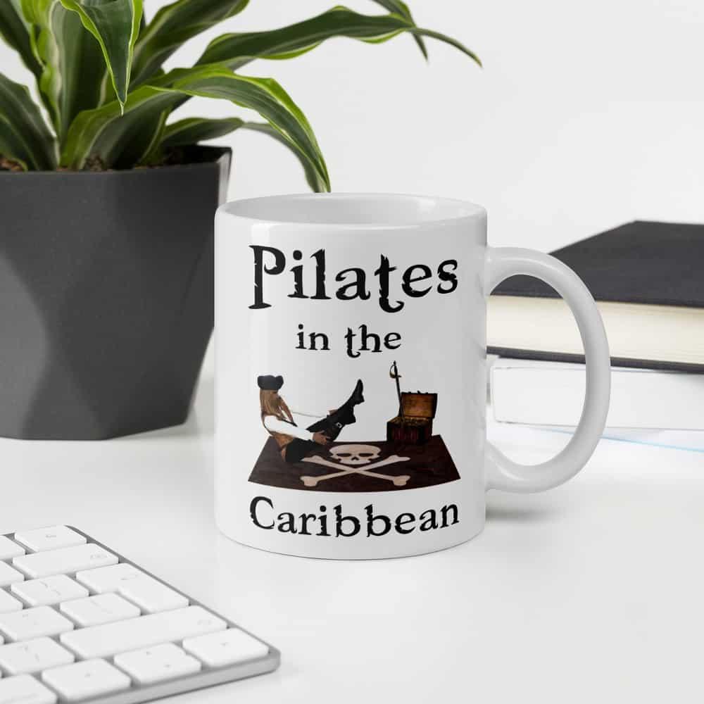 Pilates in the Caribbean Mug