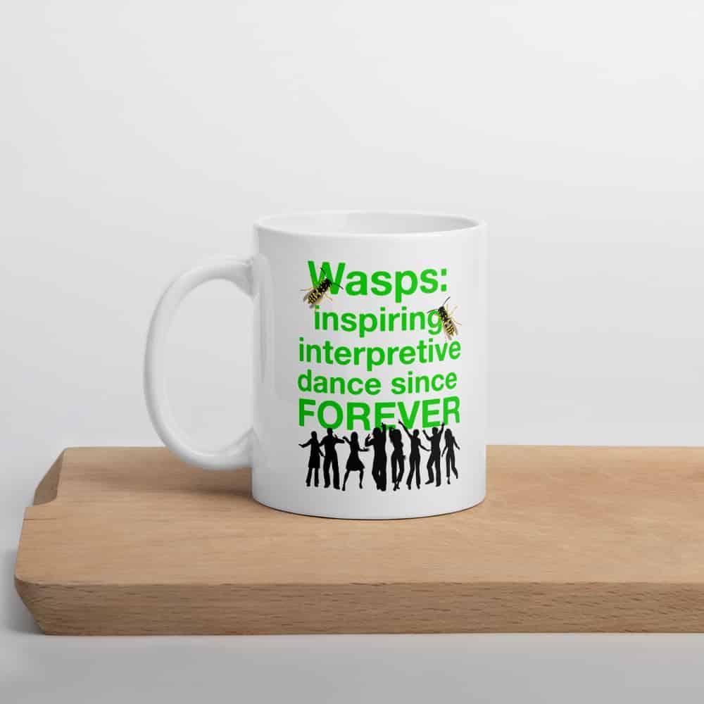 Wasps Inspire Interpretive Dance Mug